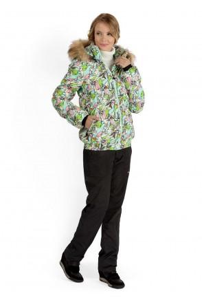 """Куртка 2в1 зимн. """"Монако"""" орхидея для беременных"""
