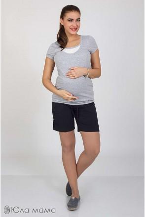 Шорти tressi індиго для вагітних