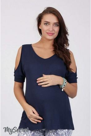 Туника Lori синий для беременных
