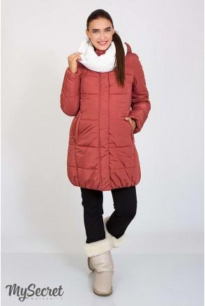 Зимова куртка Jena запилений кедр для вагітних