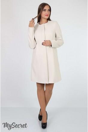 Пальто Madeleine бежевый для беременных