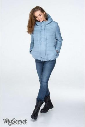 Демисезонная куртка Marais серо-голубой для беременных
