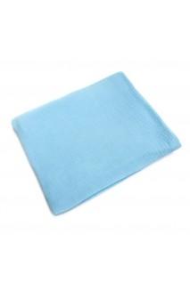 Пеленка муслиновая Голубая