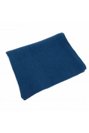 Пеленка муслиновая Синяя