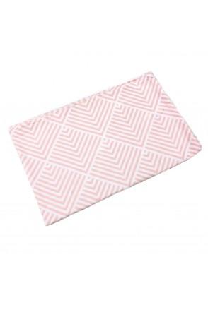 Фланелева пелюшка Ромби рожеві