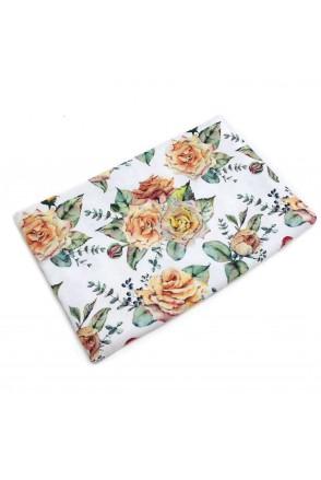 Фланелева пелюшка Яскраві троянди