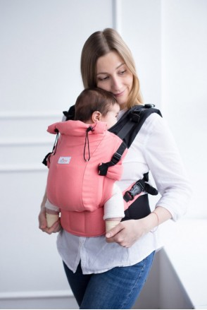 Эрго-рюкзак Adapted Коралловый