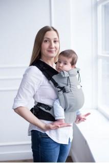 Эрго-рюкзак Adapted Gray