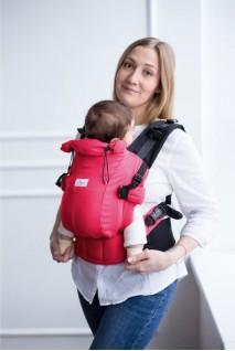 Эрго-рюкзак Adapted Амарант