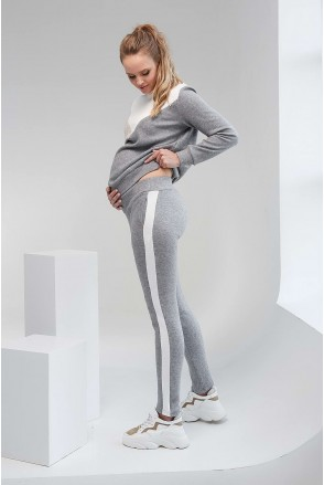 Штаны 2107 1093 серый для беременных