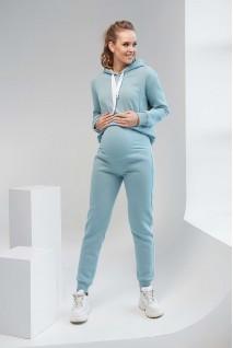 Спортивные штаны 2106 1453 голубовато-зеленый для беременных