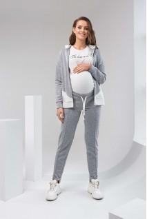 Штаны 2125 1061 серый для беременных