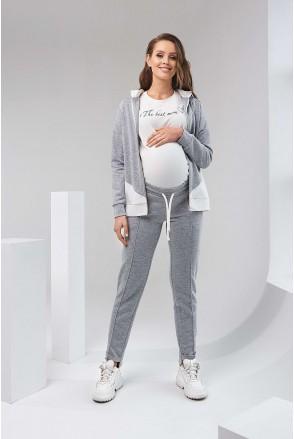 Штани 2125 1061 Сірий Для вагітних і годування