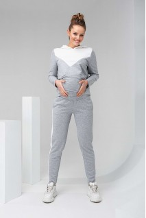 Штаны 2147 1061 серый для беременных