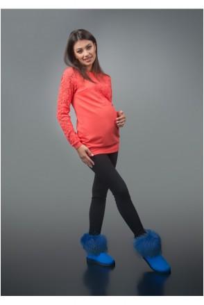 Кофта Коралловая 1654 0093 для беременных