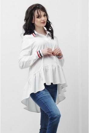 Сорочка Біла 1833 0173 для вагітних і годування