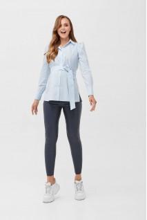Рубашка 2077 0000 Голубой для беременных и кормления