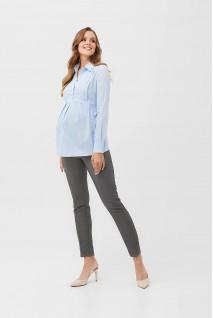 Рубашка 2078 0000 Голубой для беременных и кормления