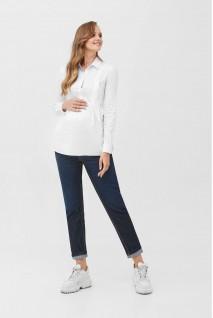 Рубашка 2078 0173 Белый для беременных и кормления