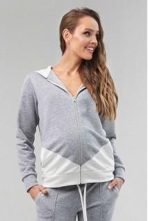 Свитшот 2124 1061 серый для беременных и кормления