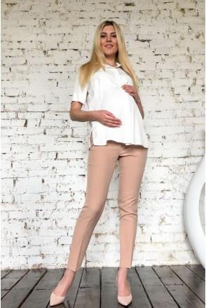 Рубашка 2055 1347 молочный для беременных и кормления