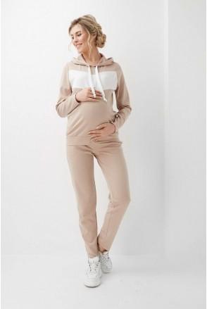 Спортивный костюм Бежевый 2005(6) 1400 для беременных и кормления