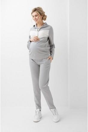 Спортивный костюм серый 2005(6) 1360 для беременных и кормления