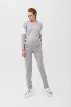Спортивный костюм 2094(93) 1093 Серый для беременных и кормления