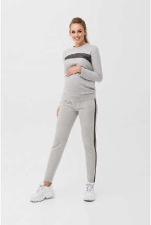 Спортивный костюм 1990(1879) 1230 Серый для беременных и кормления