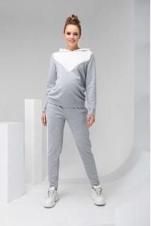Спортивный костюм 2146(7) 1061 серый для беременных и кормления
