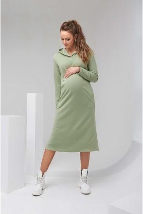 Сукня-худі 2126 1452 фісташковий для вагітних і годування