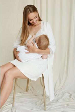 Халат Молочный 2065 1366 для беременных и кормления