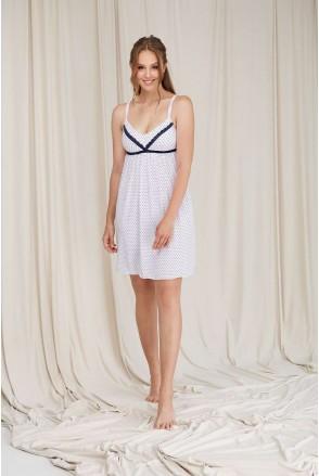 Ночная рубашка белая 2079 1391 для беременных и кормления