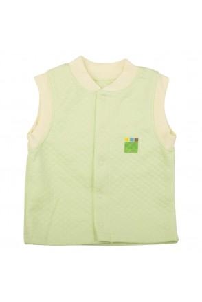Детский жилет Еко Пупс Jersey Style, капитон (Салатовый)