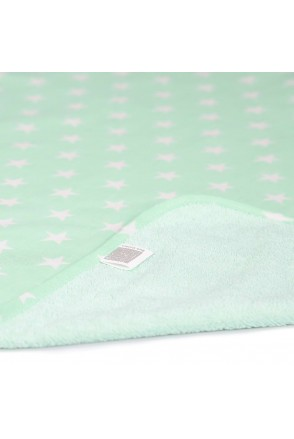Пеленка двустороняя непромокаемая ЭКО ПУПС Eco Cotton (Звезды)