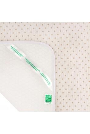 Пеленка впитывающая и непромокаемая ЕКО ПУПС Soft Touch Premium (Бежевый, звездочки)