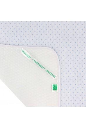 Пеленка впитывающая и непромокаемая ЕКО ПУПС Soft Touch Premium (Синий, звездочки)