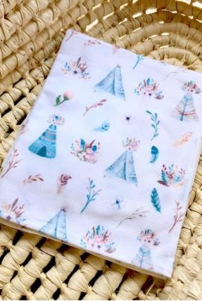 Фланелевая пеленка Вигвамы