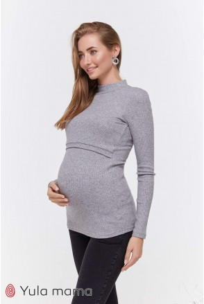 Гольф Lecie warm NR-40.051 серый меланж для беременных и кормления