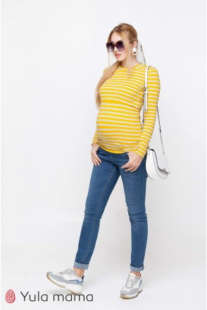 Джинсы Patty темно-голубой с потертостями для беременных