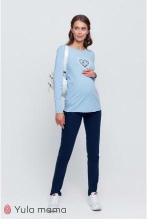 Спортивные брюки Alessa темно-синий для беременных