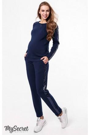 Костюм Ryan темно-синій для вагітних та годування