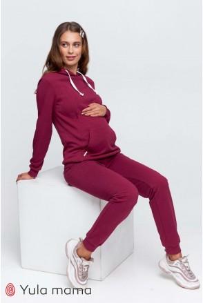 Костюм Allegro вишневый для беременных и кормления