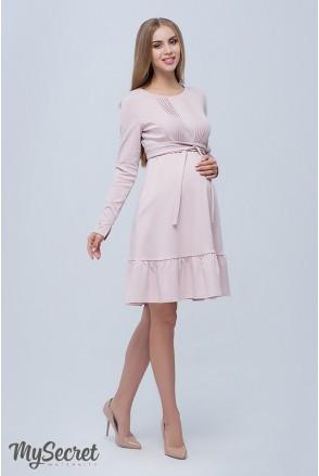 Сукня Michelle пудра для вагітних і годування