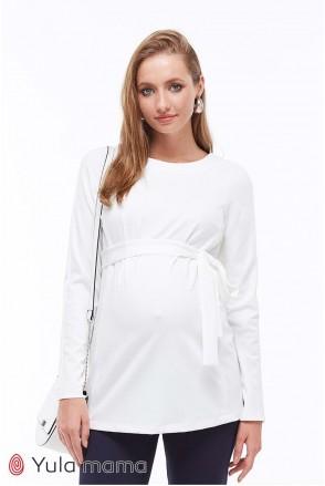 Туника Meredith молочный для беременных и кормления