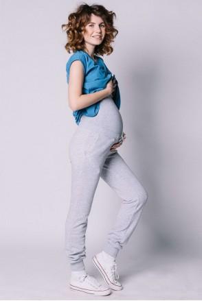 Спортивные штаны для беременных Меланж
