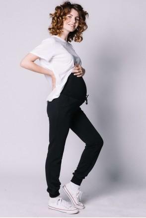 Спортивні штани для вагітних Чорний