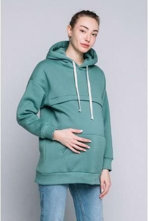 Худи для беременных и кормящих Нефрит