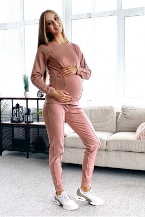 Прогулянковий костюм Manhattan пудра для вагітних і годування