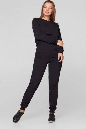 Базовий костюм Detroit чорний Для вагітних і годування